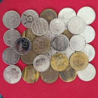 30 Pcs For $10_Sg Amusement Coin
