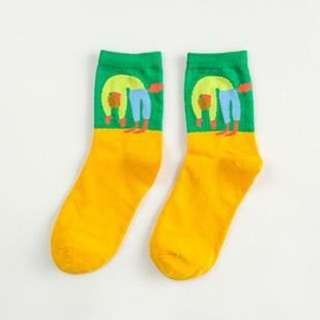 全新中筒襪