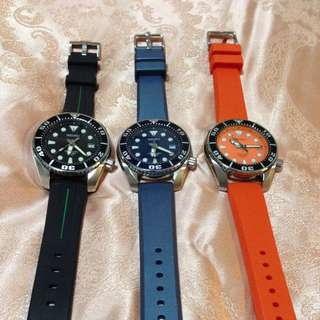 JDM Seiko Sumo Set (Black, Blue, Orange)