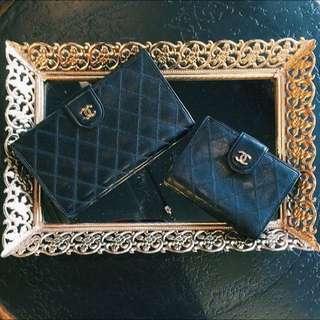 日本代購—Chanel Vintage 長夾 短夾