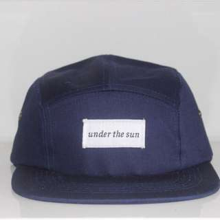 under the sun 5 panel cap