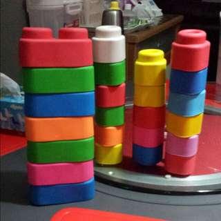 24 pcs clemmy soft blocks