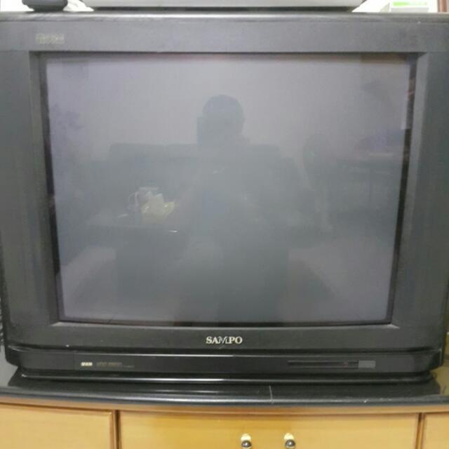23吋聲寶電視