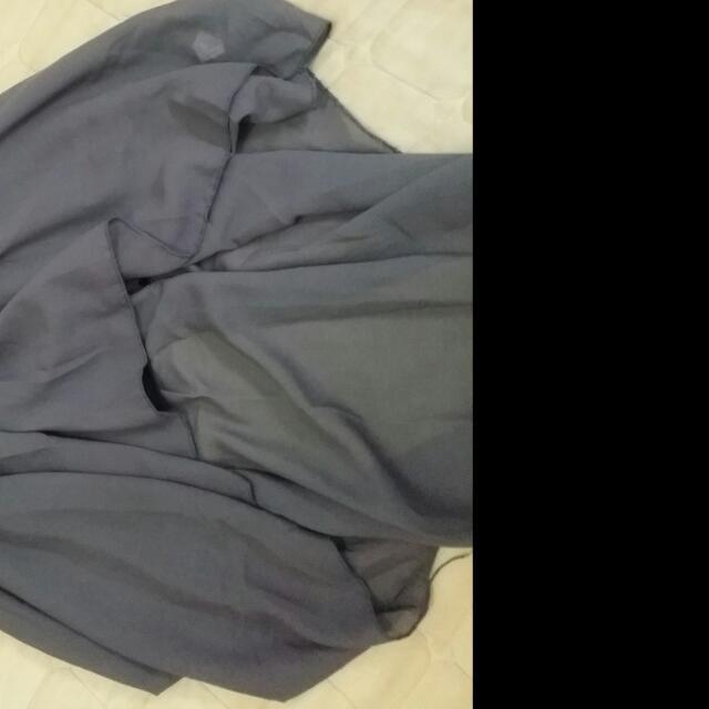 前短後長×灰裙