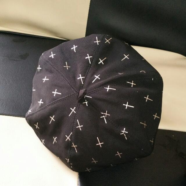 氣質畫家帽(六角帽)