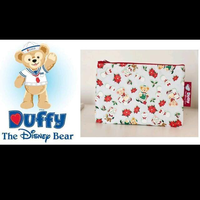達菲熊日本迪士尼聖誕限定化妝包