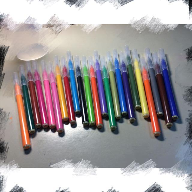 保留中💛無印良品彩色筆