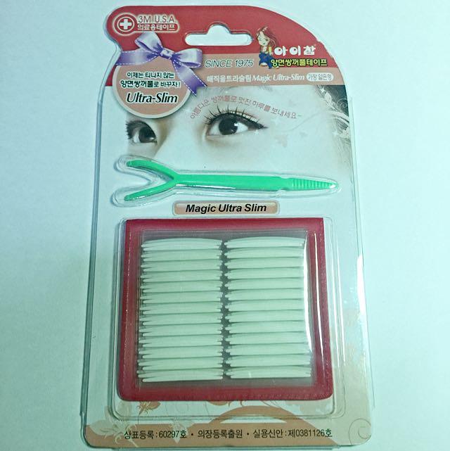 淘寶韓國製雙面隱形雙眼皮貼 1.5mm