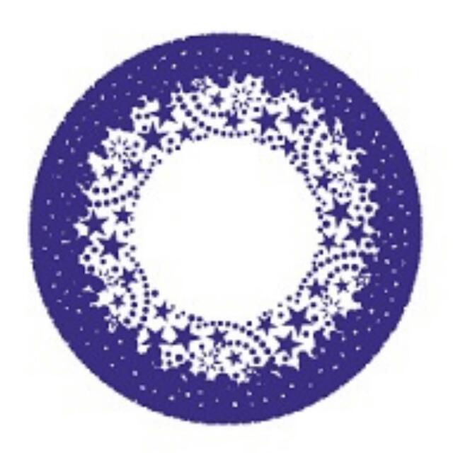【贈送】星歐 750度一對紫色隱形眼鏡日拋