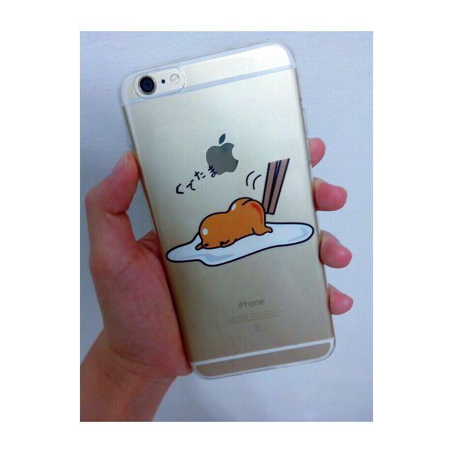 蛋黃哥透明手機殼 iphone6+