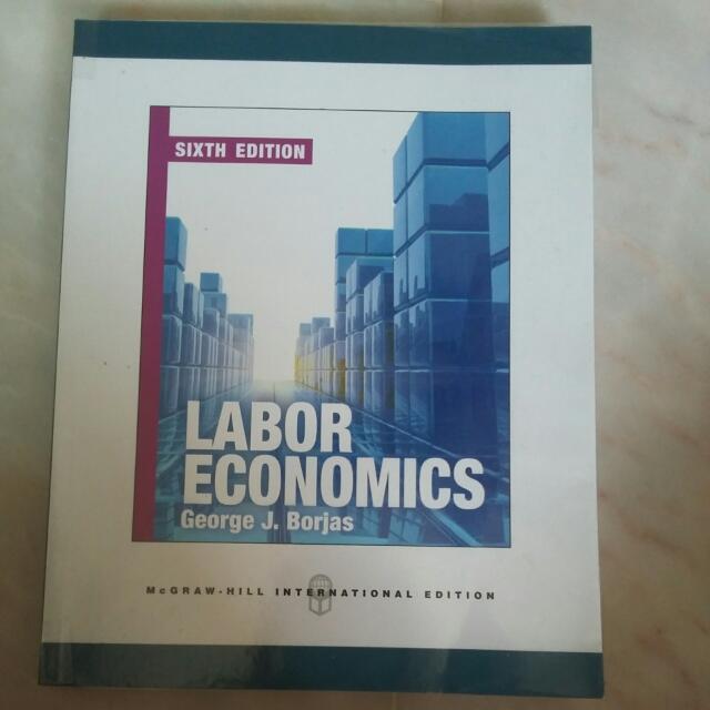 labor economics george borjas 6th edition