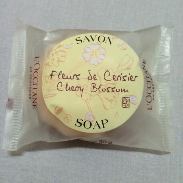 歐舒丹L'Occitane櫻花口味香皂50g 全新