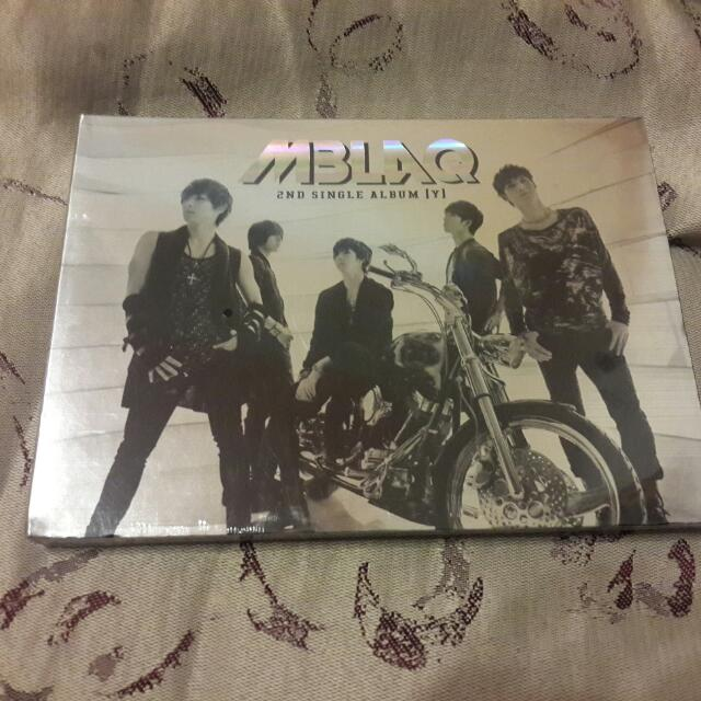 全新Mblaq 2nd Single Album