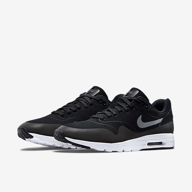 Nike Air Max 1 Ultra Moire (Women) BlackMetallic Silver