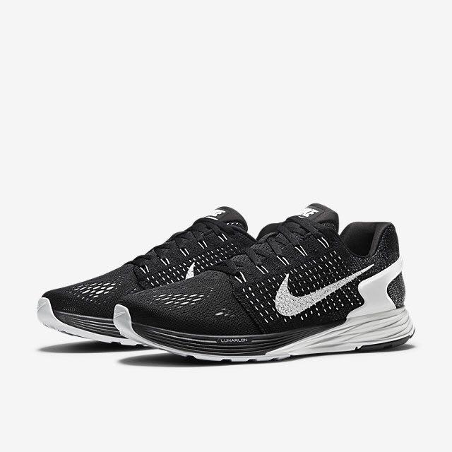newest 525ef 30dc0 Nike Lunarglide 7 (Women) - Black/Anthracite/Wolf Grey/Summit White