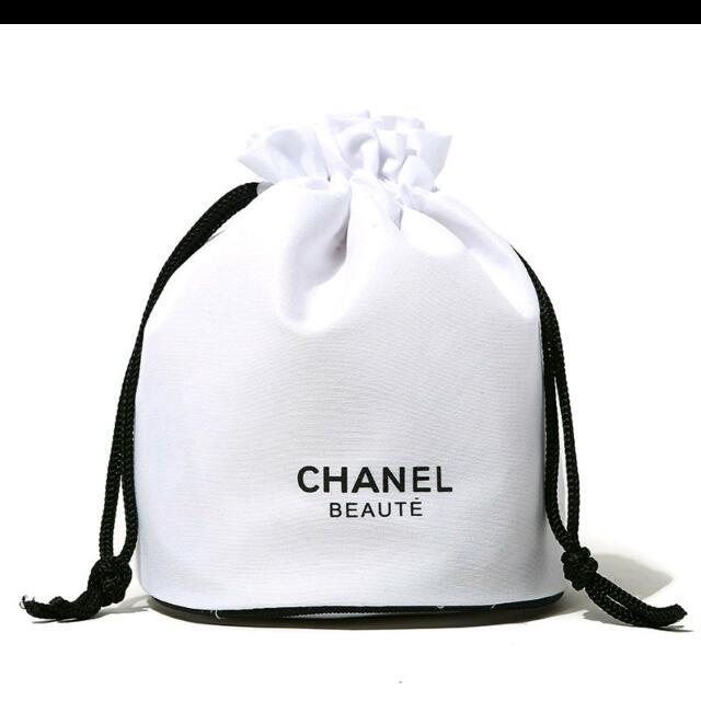 香奈兒vip圓筒束口化妝袋