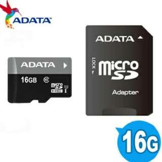 威剛 Micro 16G記憶卡