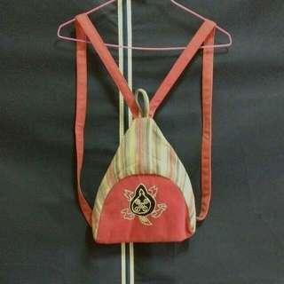 復古風/古著風造型小背包