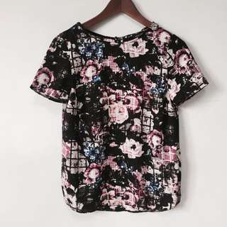 NEW LOOKS floral Top