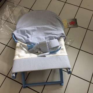 Ikea Brand New Baby Crib, Brand New Tyke Baby Seat, Like New Custom Made Queen Mattress