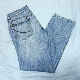 Penshoppe Denim Jeans Low Rise Straight cut Size 30