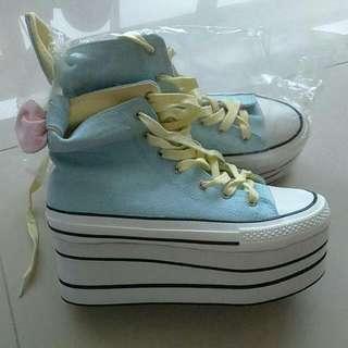 全新 帆布鞋 韓國進口