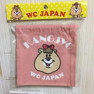 🎀日本WC熊束口袋🎀