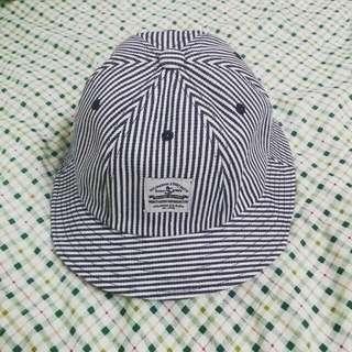 (訂)部落客同款 夏日清新條紋漁夫帽