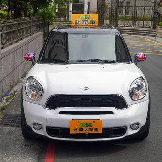 11年 COUNTRY MAX 白帥帥  MINI頂級五門車款!!跟COOPER相比  一樣的車型、不一樣的大空間!!