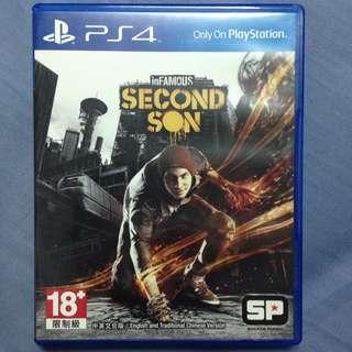 PS4 第二之子 中英文合版