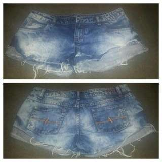 RUSTY - Denim Shorts - Size 12