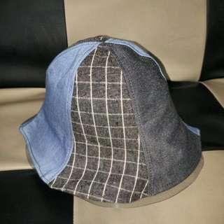 牛仔元素漁夫帽