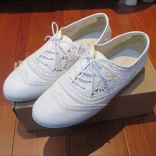 🇰🇷正韓蕾絲牛津鞋👞