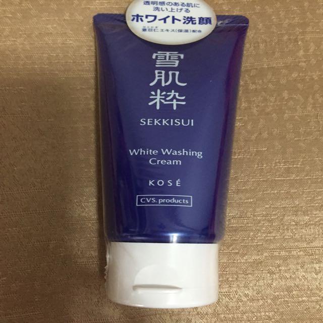 《日本711獨家》雪肌粹洗面乳
