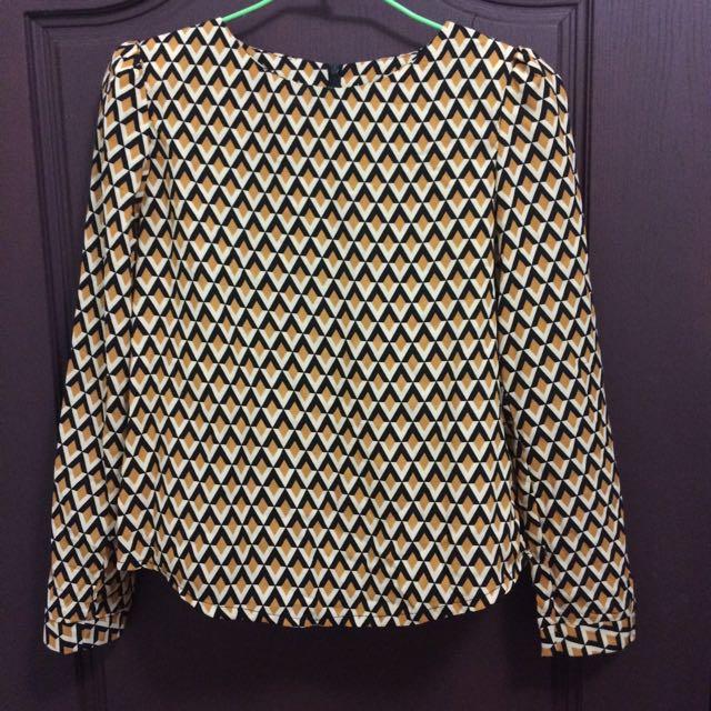 幾何圖形上衣