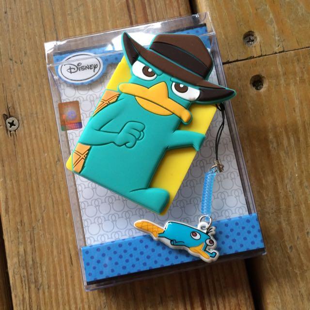 卡達鴨迪士尼矽膠卡片背貼