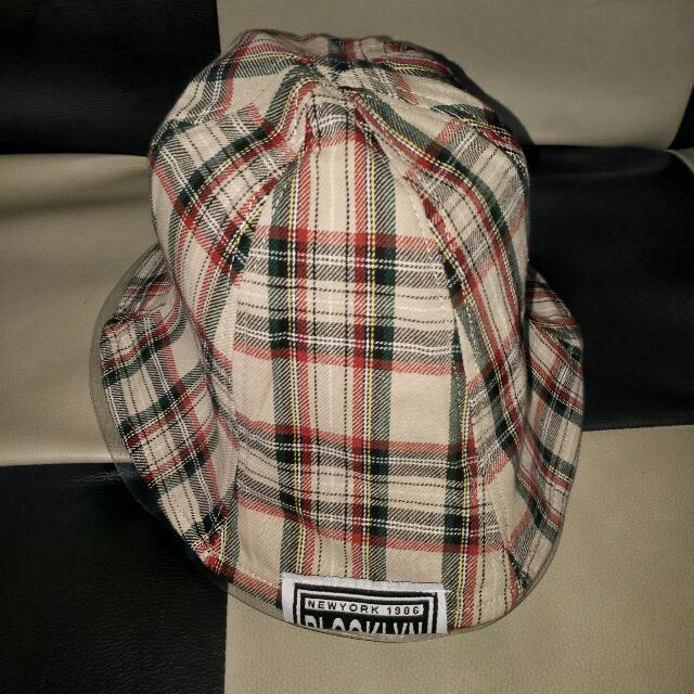 經典格紋漁夫帽