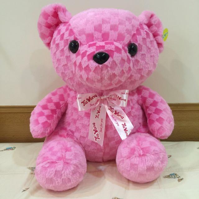 禮物 粉紅小熊