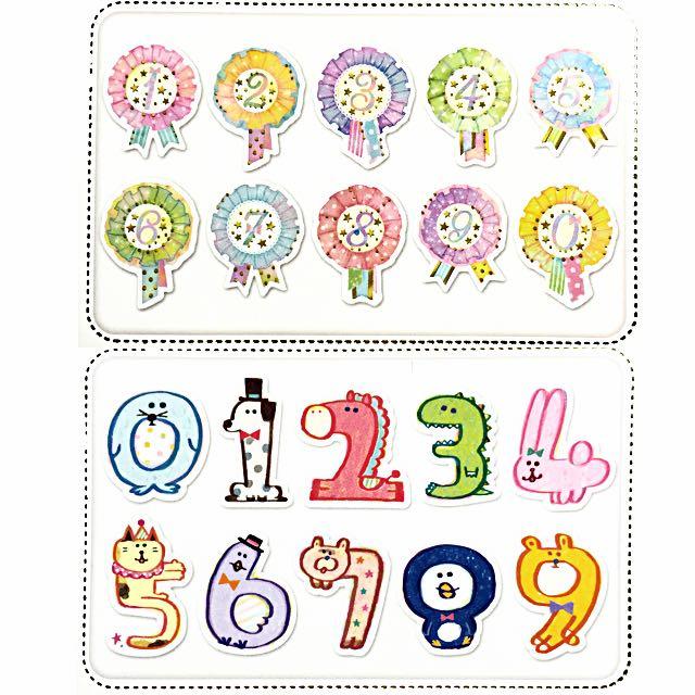 分裝✨貼紙包  🌈彩色徽章🌈  🐰蠟筆動物🐶