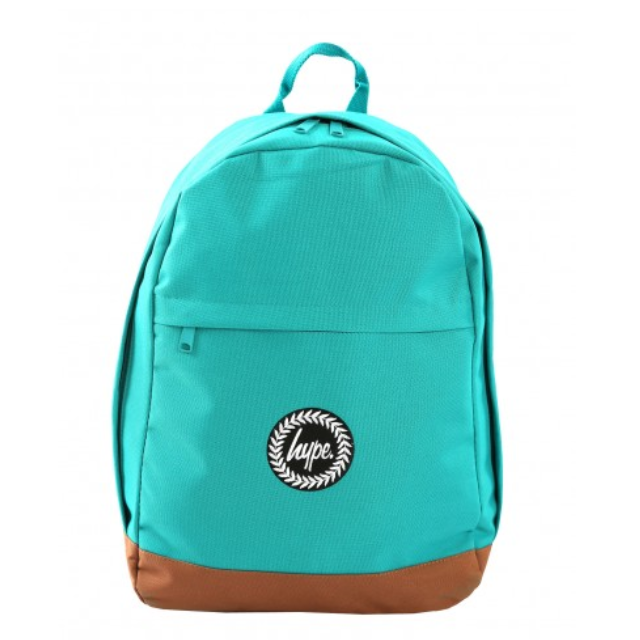 HYPE TEAL COLLEGE BACKPACK