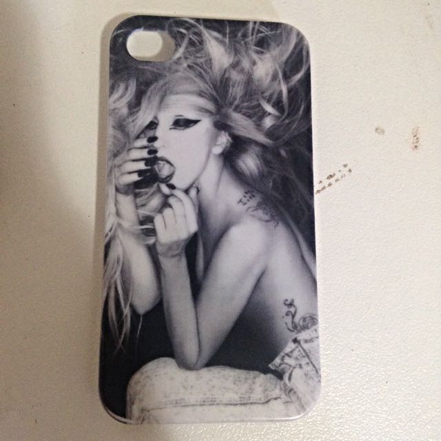 Iphone4 Case Lady Gaga