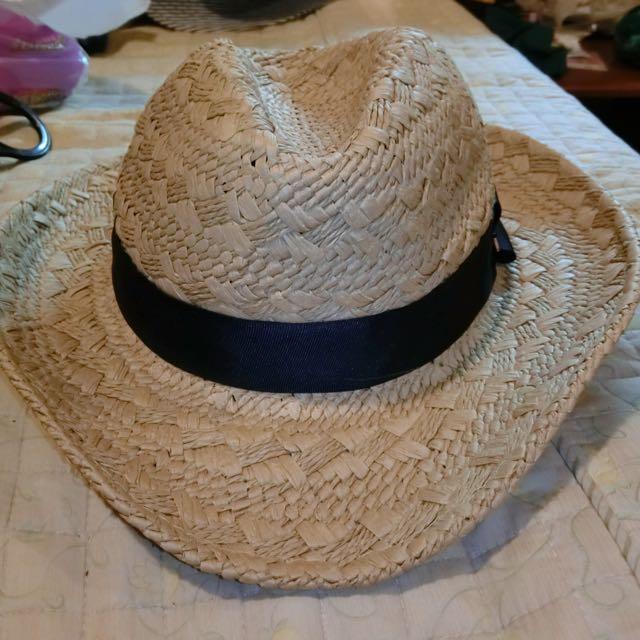 (保留)Major草帽 黃 MJR 帽子 Mavis海邊必備