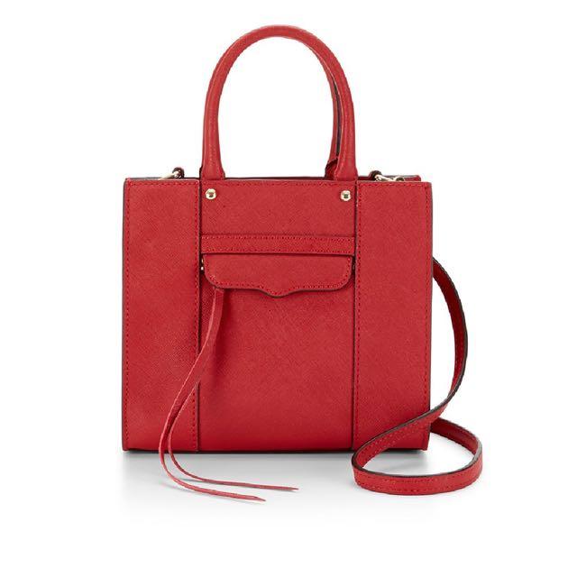Rebecca Minkoff M.A.B mini bag / Red