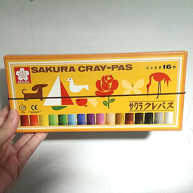 SAKURA CRAY-PAS日式懷舊粉蠟筆