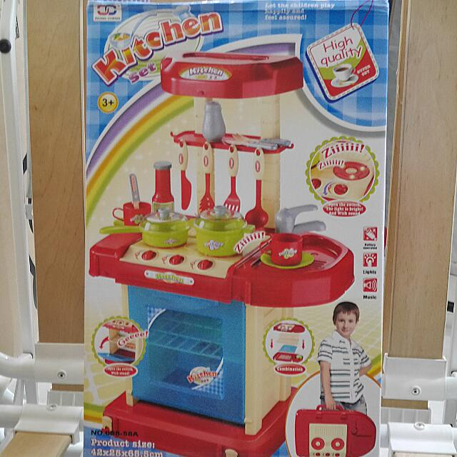 Xiong Cheng Kitchen Set + Train Set