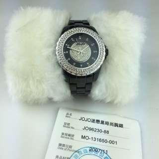 Jo Jo 不銹鋼滿鑽錶 500免運