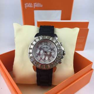 Folli Follie 橡膠錶帶鑽錶 800含運
