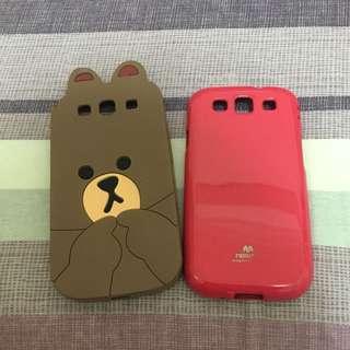 s3 手機殼 熊大 韓國品牌 粉 ❤️