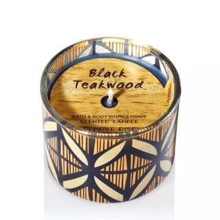 Bath & Body Works Mini Candle: Black Teakwood