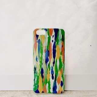 [苗繪手創]iphone5s手機殼 保護殼 手繪製作 僅此一個(免運費)